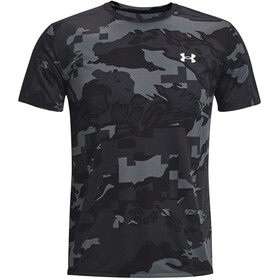 Under Armour Speed Stride Printed Short Sleeve Shirt Men black-black
